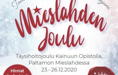 Mieslahden joulu 2020 23.-26.12.2020